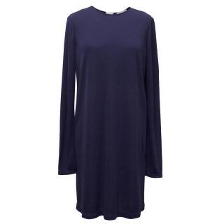 Halston Blue Dress
