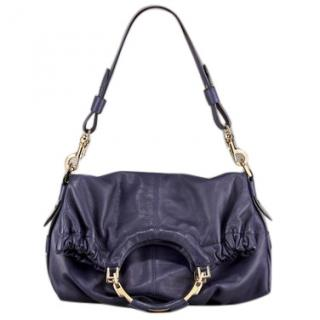 Escada Blue Hobo Bag