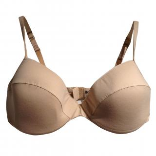 Wolford Soft Cotton Nude Bra New