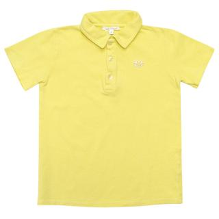 Marie Chantal Yellow Polo
