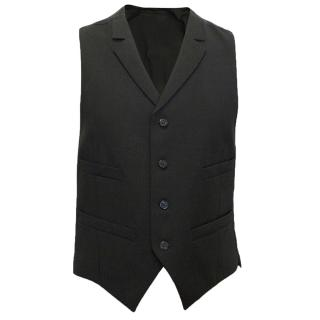 J Lindberg Black Waist Coat