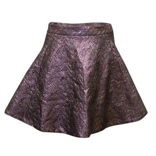TopShop Unique Purple Skirt