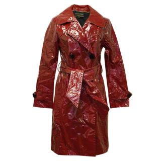Georges Rech Red Trench Coat