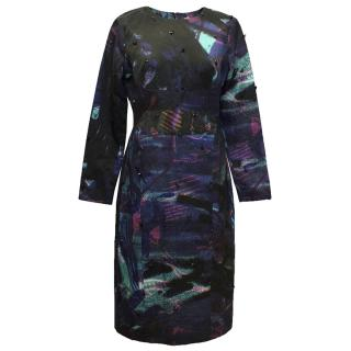 Erdem Multicolour Print Dress