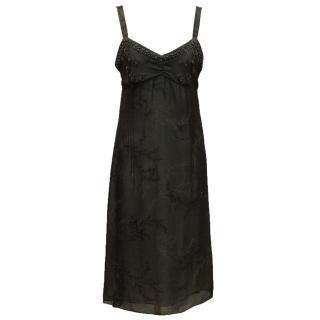 Megan Park Black Dress
