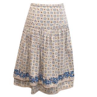 Rutzou Patterned Skirt