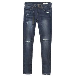 BlankNYC Dark Distressed Jeans