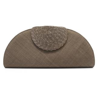 Lock & Co London Brown Knit Bag