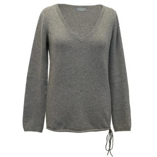 Zadig and Voltaire Grey Cashmere Sweater