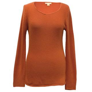Michael Kors Orange Knitted Jumper