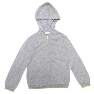 Marie Chantal Children's Zip up Grey Hoodie