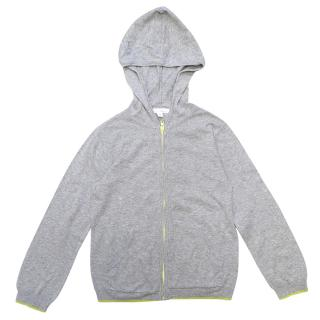 Marie Chantal Children's Zip up Grey Hoodie