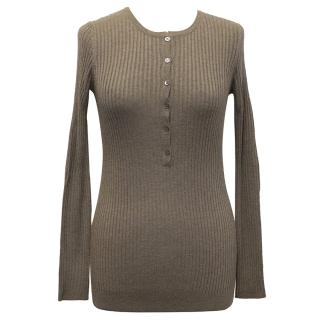 Vince Buttoned Sweater