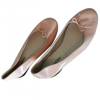 Repetto baby pink ballet flats