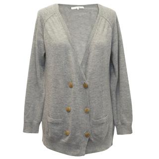3.1 Philip Lim Grey Cashmere Cardigan