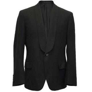 Yves Saint Laurent black wool blazer