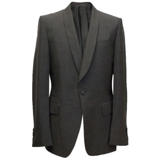 Yves Saint Laurent Mohair blend, one button blazer