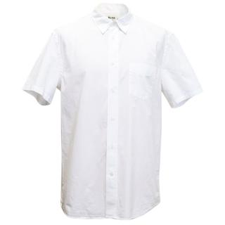 Acne Studios White Short Sleeve Shirt