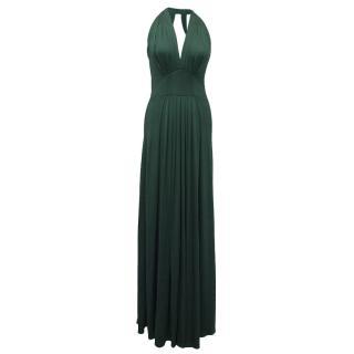 Issa Green Silk Gown