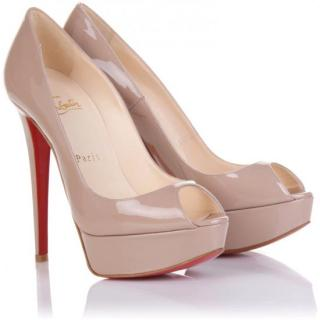 Christian Louboutin Banana nude 140 pumps