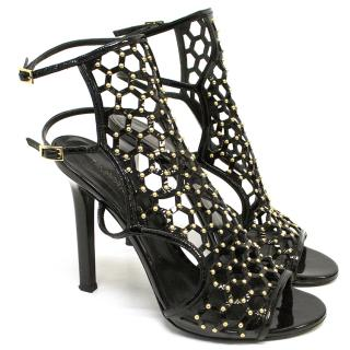 Tamara Mellon Scandal Honeycomb Sandals