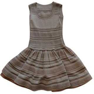 ALAIA grey dress