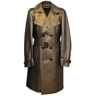 Burberry Gold Trench Coat