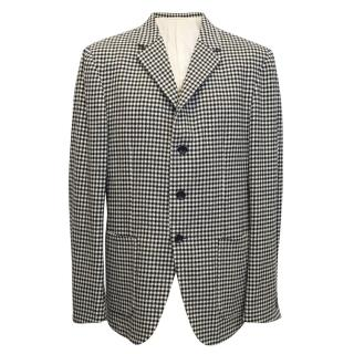 Mr. Bathing Ape Houndstooth wool Blazer