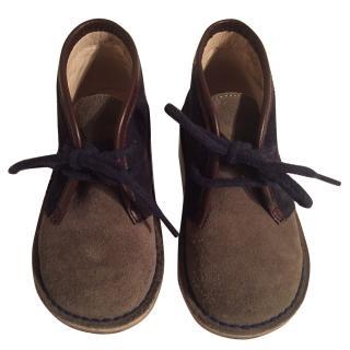 Jacadi toddler boots size 23