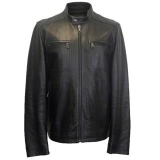 Prada Men's Leather Jacket