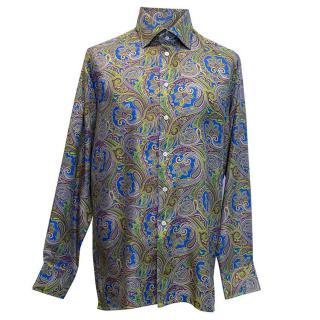 Richard James Men's Paisley shirt