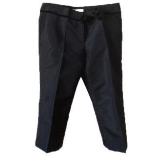 Prada 3/4 length taffeta evening pants