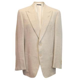 Tom Ford Men's cream blazer