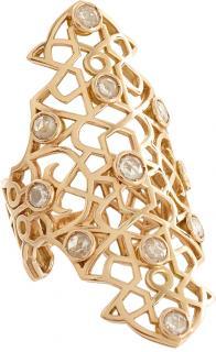 Repossi Rose Gold Diamond Mure Ring