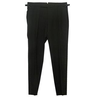 Tom Ford Men's Black Trousers