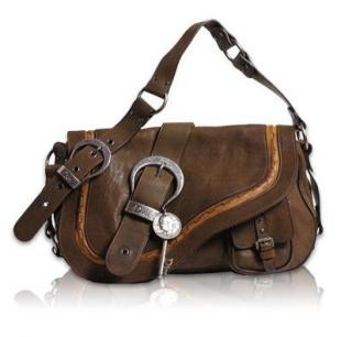 Christian Dior Gaucho Shoulder Bag