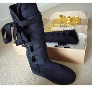 Love From Australia Nomad Tall Black Boots