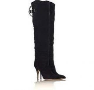 Chloe Over the Knee Suede Boots