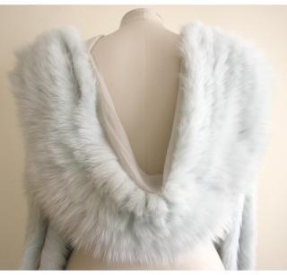 Dior fox fur stole