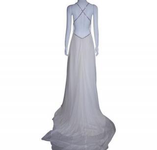 Caroline Castigliano Silk Crepe Wedding Gown
