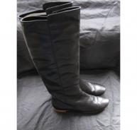 barbara-bui-black-leather-boot