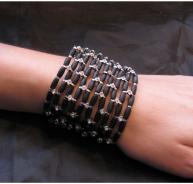 Denise Manning Black Cuff
