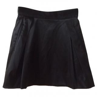 Dolce&Gabbbana black satin skirt