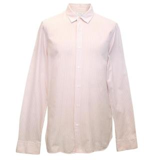 Jil Sander's Men's Pink Striped Shirt