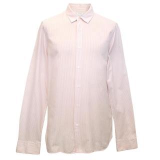 Jil Sander's Men's Pink Striped Shirt