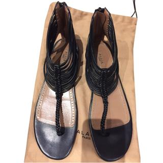 Alaia Strappy Flat Sandals EU36.5, UK3.5, US6.5
