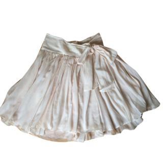 Chloe cotton voile skirt