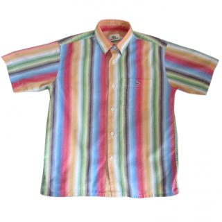 Lacoste Boy's striped shirt