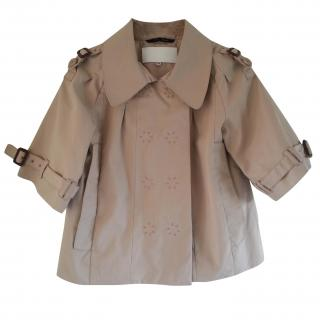 Designers Remix Collection Cropped Trench
