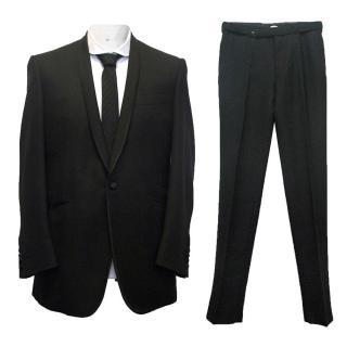 Spencer Hart black bespoke suit